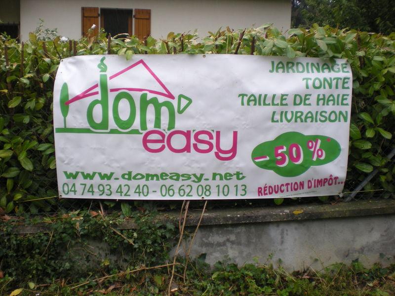 Dom 39 easy r alisations services la personne bourgoin for Service de jardinage